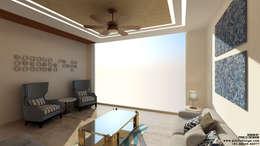 Residential: modern Living room by Pixilo Design