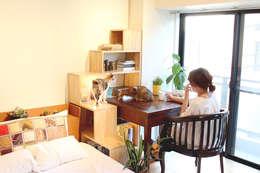猫家具ニャンド NYAND SHELF - TREE: &lodge inc. / 株式会社アンドロッジが手掛けたダイニングルームです。