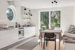 scandinavian Kitchen by Bohemian Nordic Interior