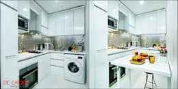 Kitchen SEt Minimalis + MEja lipat:  Kitchen by De' Catoer design & build