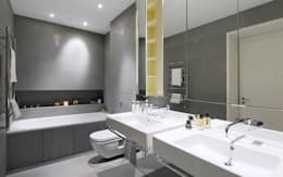 Bathroom: minimalistic Bathroom by Graham D Holland