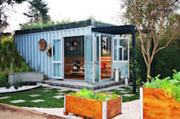 Ein smartes g nstiges container haus in der natur for Smart haus container
