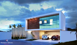 Rumah by Robson Veloso Arquitetura