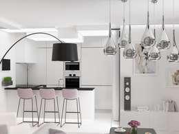 Cocinas de estilo minimalista por Anastasia Yakovleva design studio
