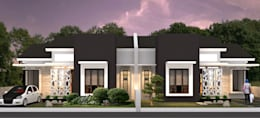 Artomoro residences:  Rumah by Axis Citra Pama