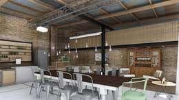 غرفة السفرة تنفيذ ARBOL Arquitectos