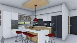 minimalistic Kitchen by ARBOL Arquitectos