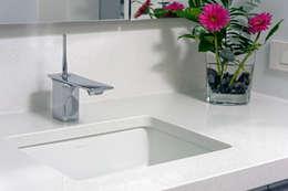 Contemporary Washington, DC Condominium Renovation: modern Bathroom by BOWA - Design Build Experts