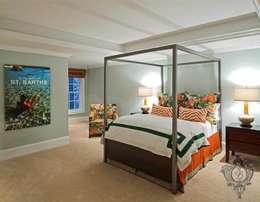 Bedroom: eclectic Bedroom by Kellie Burke Interiors