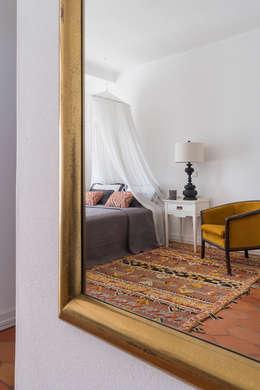 غرفة نوم تنفيذ The Interiors Online