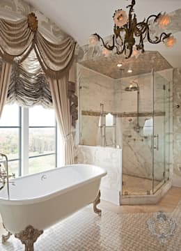 Master Bathroom: classic Bathroom by Kellie Burke Interiors
