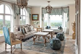 Day Room: classic Conservatory by Kellie Burke Interiors