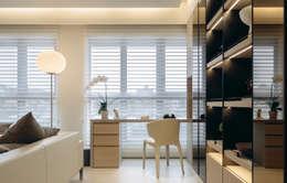 modern Study/office by 汎羽空間設計