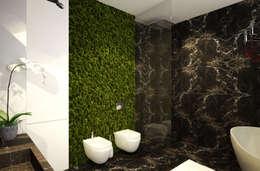 Baños de estilo industrial por U-Style design studio