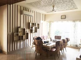 KIRTI BHAWAN: modern Dining room by APT Designs