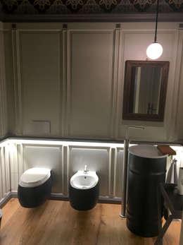 Boiserie in legno idee e ispirazioni per decorare la casa - Boiserie in legno per bagno ...