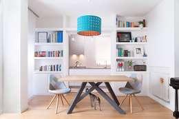 Salas de estilo escandinavo por OficinaVivienda _ architettura I interior design