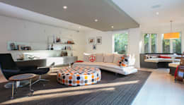 Spring Valley Residence: modern Media room by FORMA Design Inc.