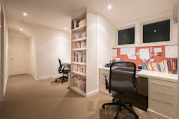 Spring Valley Residence: modern Study/office by FORMA Design Inc.