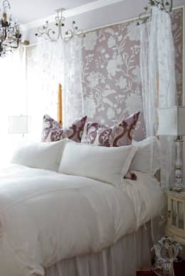 Master Bedroom: classic Bedroom by Kellie Burke Interiors