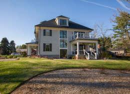 Craftsman Modern: modern Houses by FORMA Design Inc.