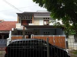 Eksterior:  Rumah by Vaastu Arsitektur Studio