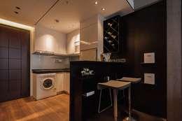 Yuppie:  廚房 by 沐駿室內設計有限公司