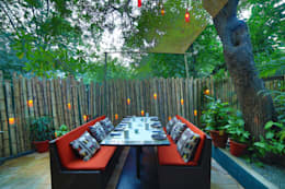 Ariba hauz khas: modern Garden by Total Interiors Solutions Pvt. ltd.
