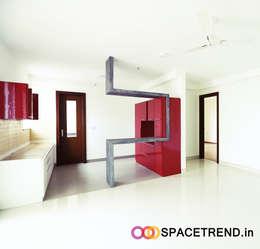 Kitchen: minimalistic Kitchen by Space Trend