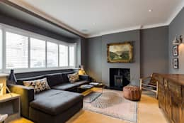 front living room: classic Living room by VCDesign Architectural Services