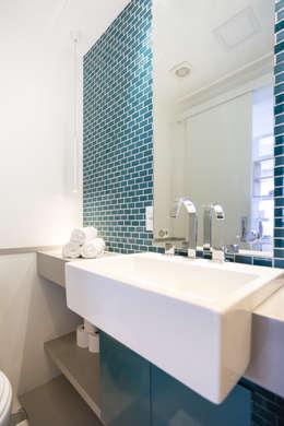 Baños de estilo ecléctico por ARQ.STHÊ.DEZ