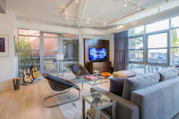 modern Living room by FORMA Design Inc.