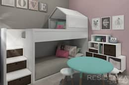 RECAMARA INFANTIL : Recámaras infantiles de estilo moderno por Residenza by Diego Bibbiani