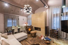 classic Living room by GOOD WOOD