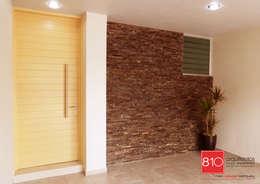 Casa Habitación. Ignacio, Alma Gutiérrez: Casas de estilo moderno por 810 Arquitectos