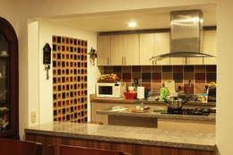 : Cocinas de estilo minimalista por Ensamble de Arquitectura Integral