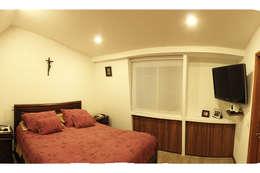 Dormitorios de estilo  por Ensamble de Arquitectura Integral