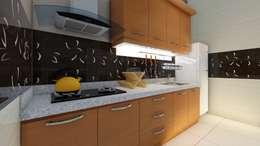 meja dapur:  Dapur by Ardha Design