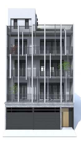 House D 鄧宅:  房子 by 構築設計