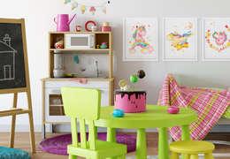 غرفة الاطفال تنفيذ K&L Wall Art