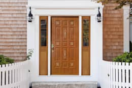 Puertas y ventanas de estilo moderno por Lamitec SA de CV