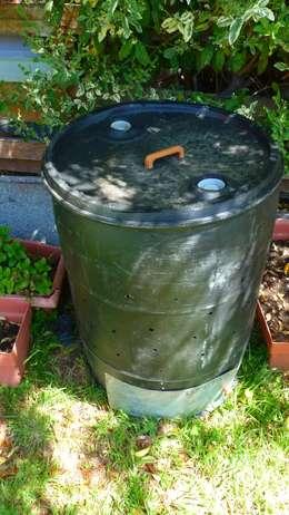 C mo hacer una compostera casera for Calentadores para jardin tipo hongo