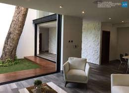 La Casa del Arbol / Playa del Carmen, Quintana Roo, México: Casas de estilo moderno por AR STUDIO