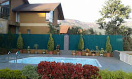 Albercas de jardín de estilo  por Aesthetica