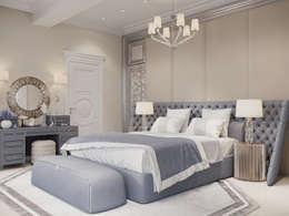 غرفة نوم تنفيذ ООО 'ИНТЕРИОР'