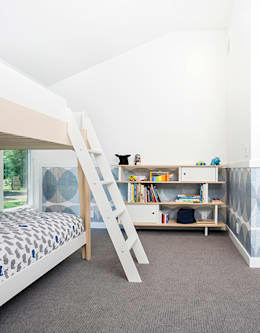 Quogue Weekend House, Quogue, NY: modern Nursery/kid's room by BILLINKOFF ARCHITECTURE PLLC