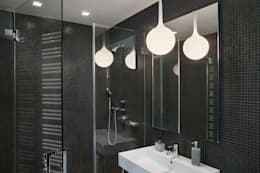 High Line Penthouse, New York, NY: minimalistic Bathroom by BILLINKOFF ARCHITECTURE PLLC