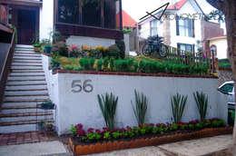 modern Garden by Axonometrico