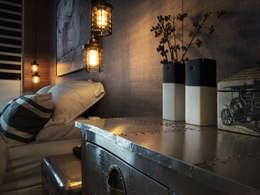 غرفة نوم تنفيذ KD Panels