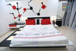 Bedroom Interior Design: classic Bedroom by KAM'S DESIGNER ZONE